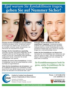 ContactLensUpdate.com - Patient handout - Cosmetic contact lenses (German)